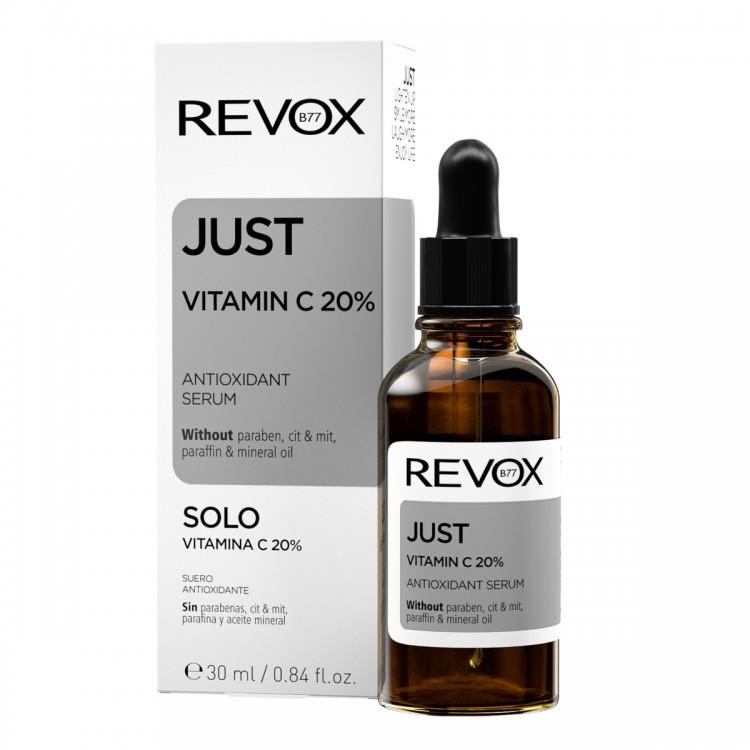 Serum antioxidant JUST vitamin C 20% antioxidant serum, Revox, 30ml