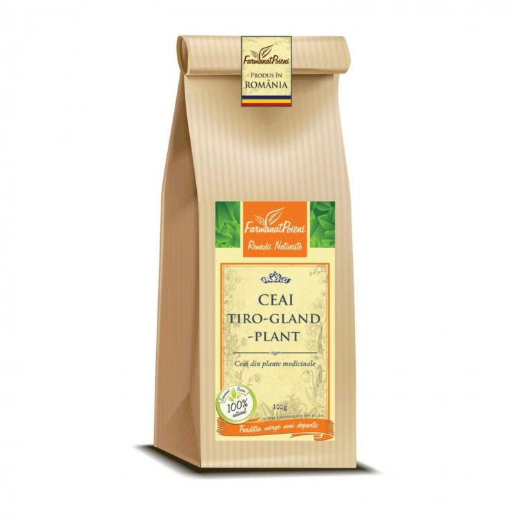 Ceai tiro-gland-plant (pentru afectiuni tiroidiene) - 100g