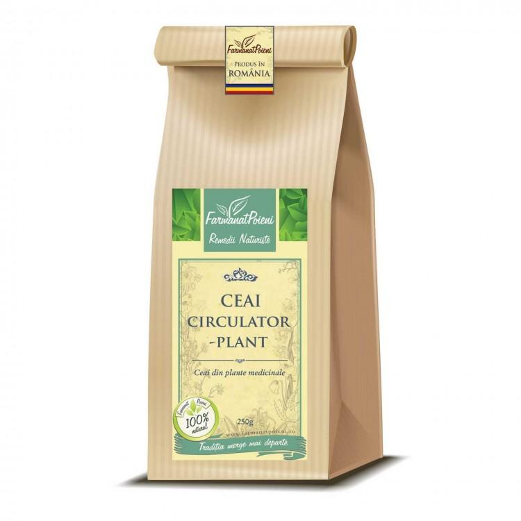 Ceai circulator-plant (pentru afectiuni circulatorii, arterita, varice) - 250g