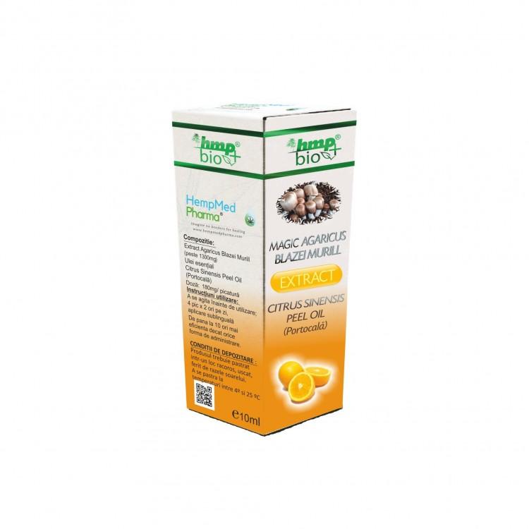 Magic Agaricus Blazei Murill Extract Citrus Sinensis Peel Oil (Portocala)